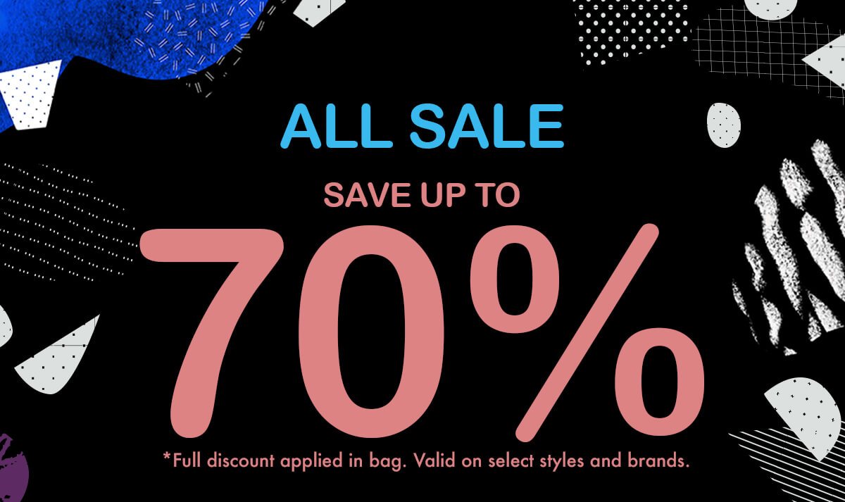 UP TO 70% OFF ON HUNDREDS OF ITEMS-SHOP NOW