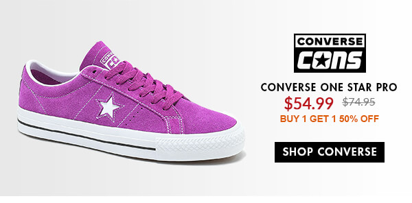 CONS SALE SHOES - FEAT. ONE STAR PRO & MORE - SHOP SALE CONS