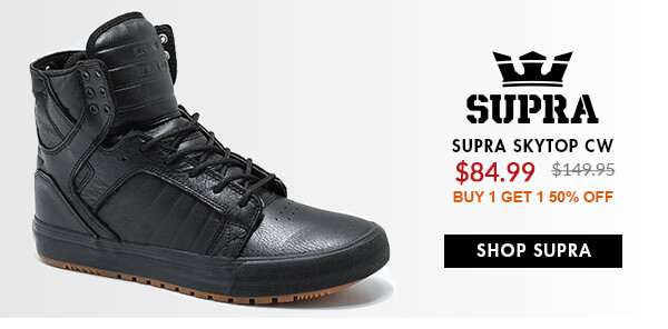 SUPRA SALE SHOES - FEAT. SKYTOP & MORE - SHOP SALE SUPRA