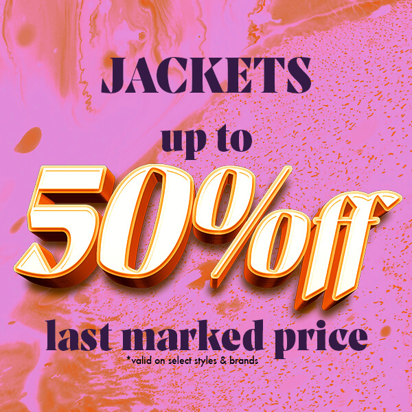 WINTER &LIGHTWEIGHT JACKETS FROM TOP BRANDS-UP TO 50% OFF-SHOP NOW