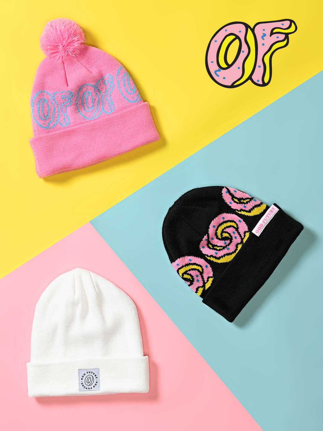 NEW BEANIES FROM ODD FUTURE &MORE-SHOP BEANIES