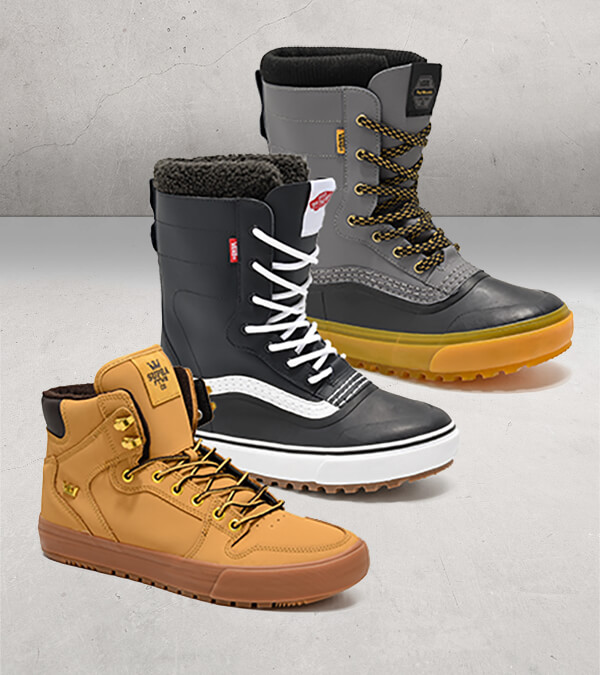 COLD WEATHER AND SNOW BOOTS-SHOP BOOTS