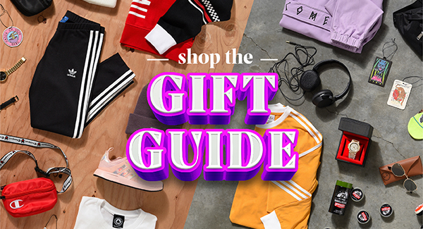 SHOP THE HOLIDAY GIFT GUIDE WITH FREE SHIPPING ON ALL ORDERS!
