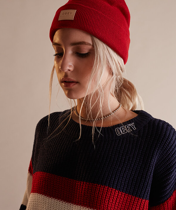 BUNDLE UP IN THESE SWEATERS FEAT. OBEY & MORE - SHOP SWEATERS