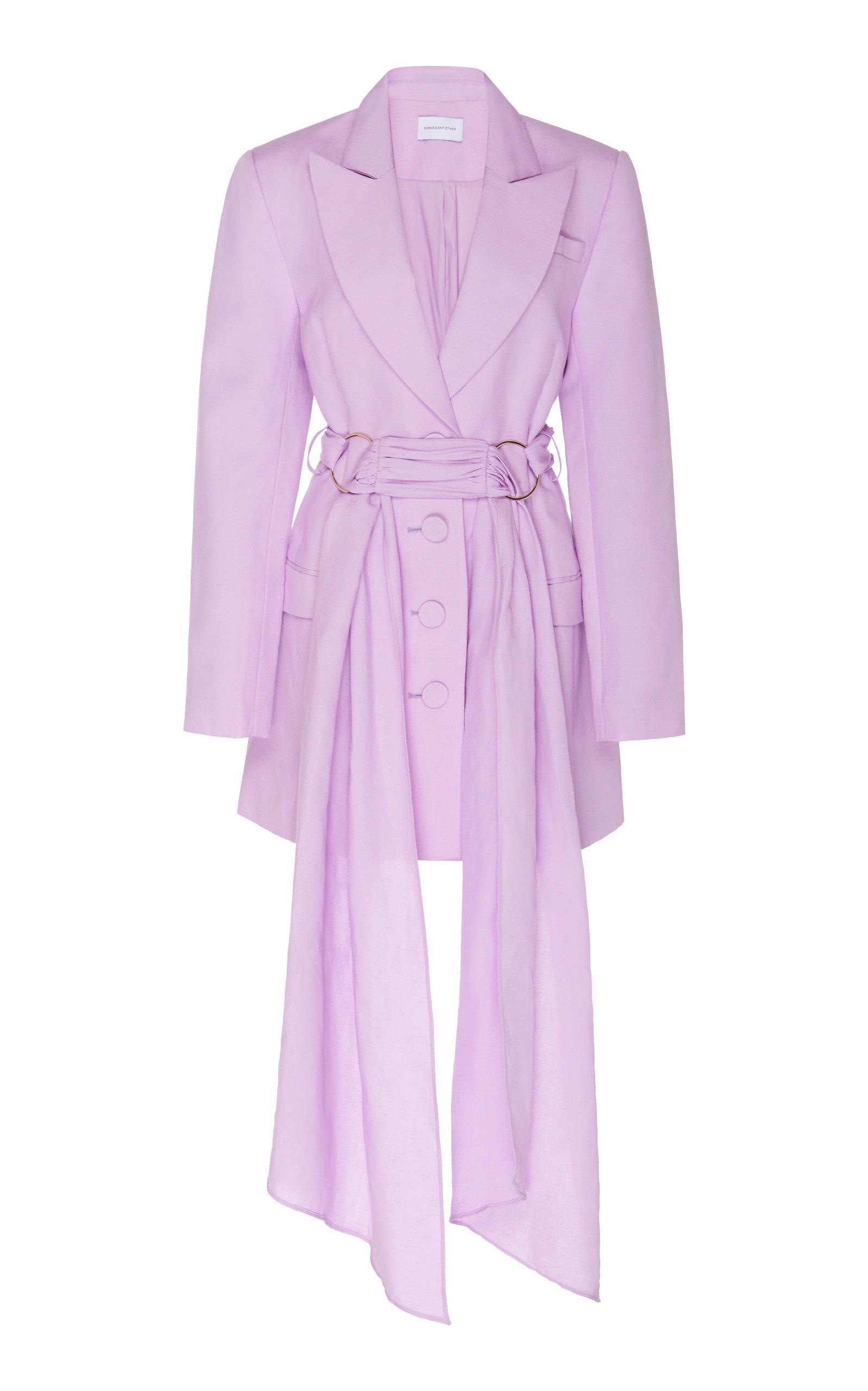 Linen Blazer Dress