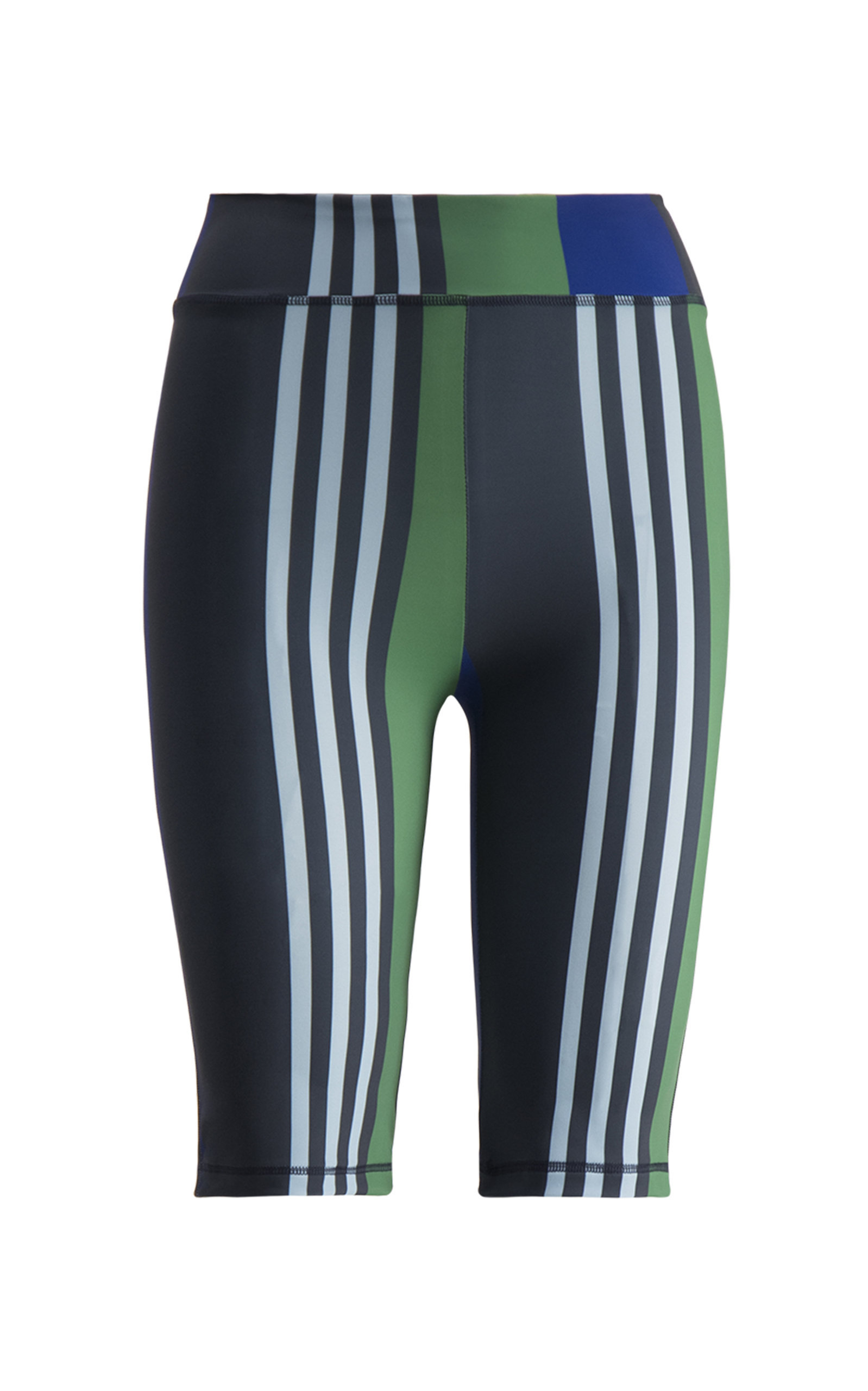 Striped Bicycle Shorts
