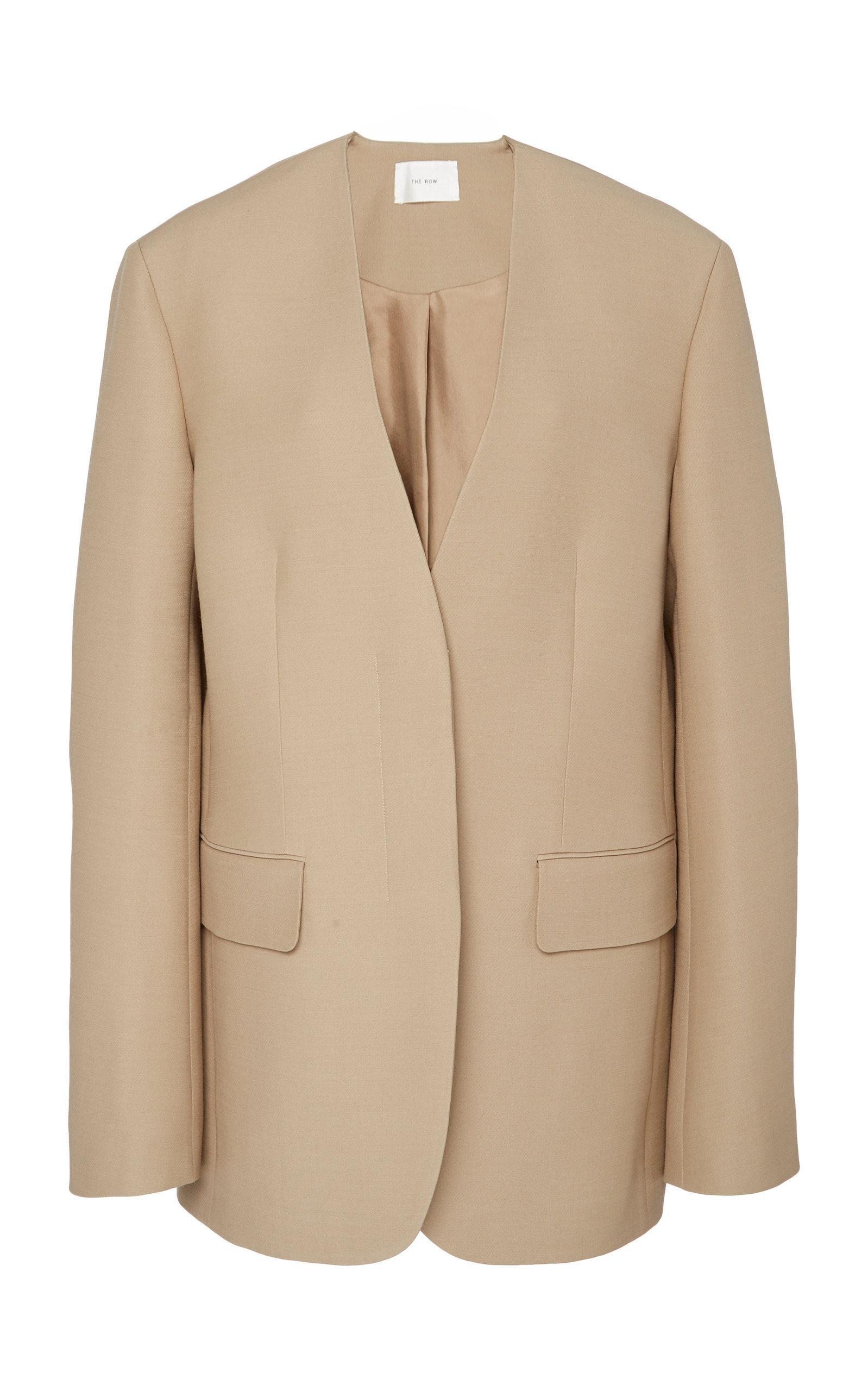 Murray Wool And Silk-Blend Blazer