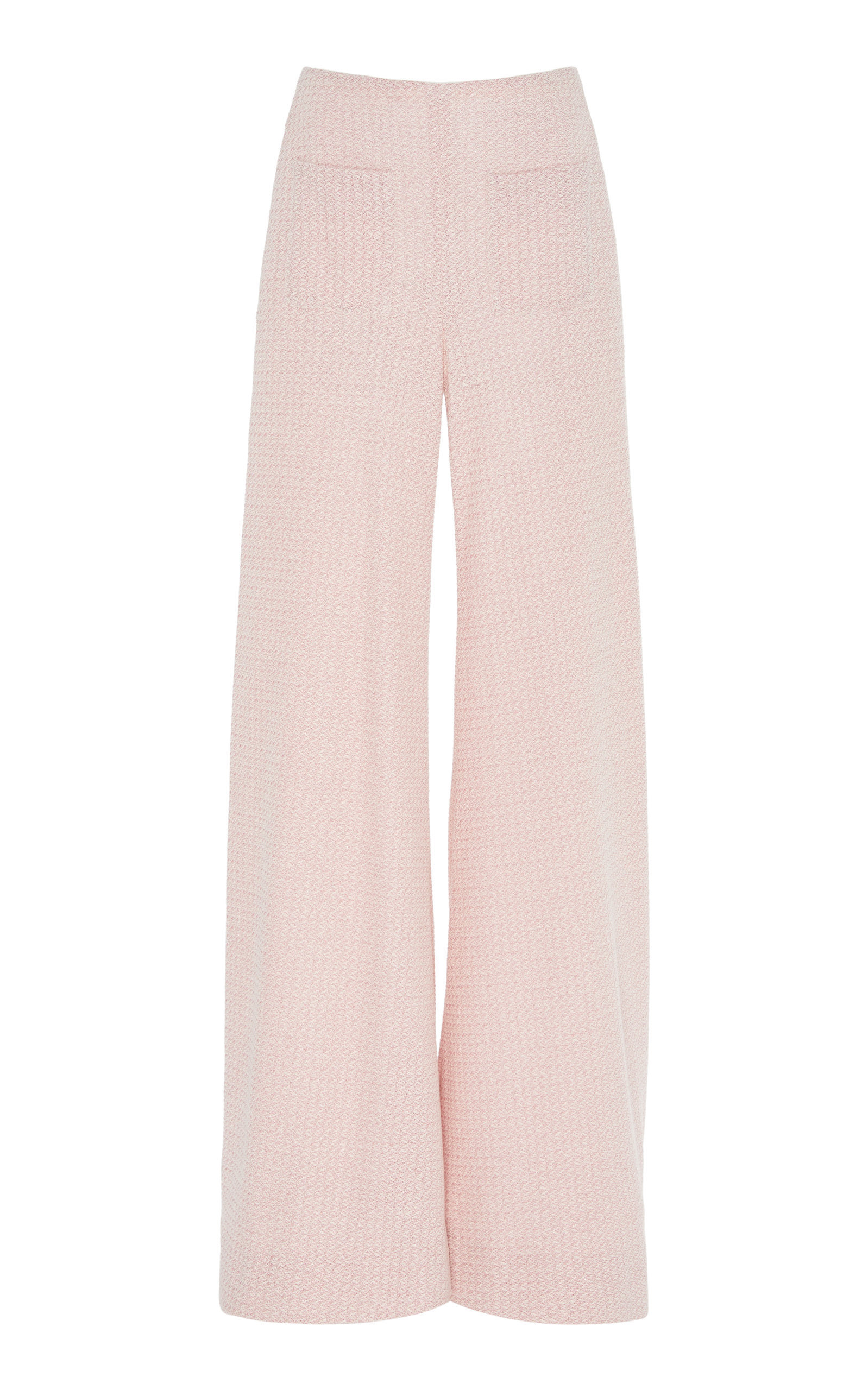 WOVEN FLARED TROUSERS