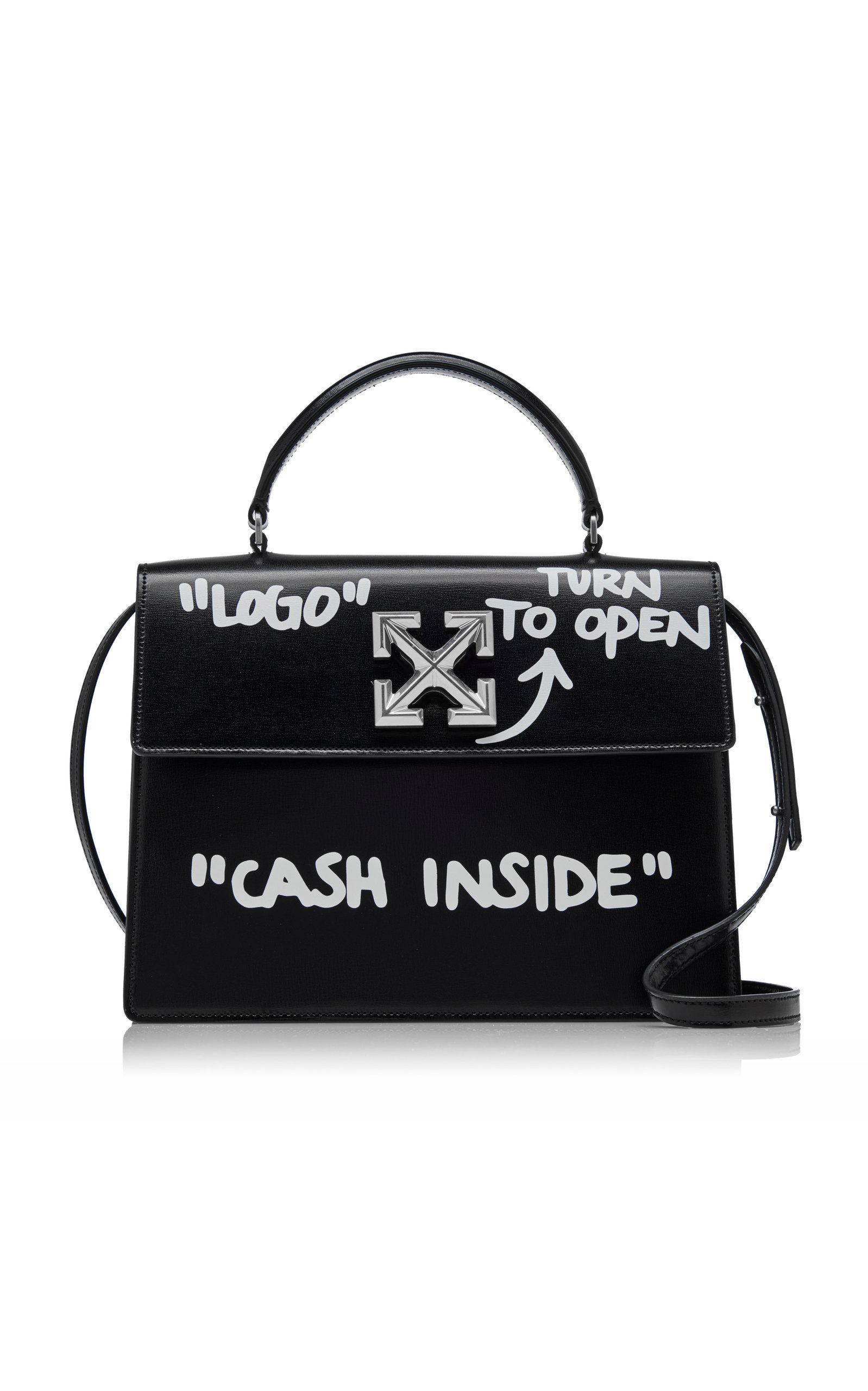 Jitney 2.8 Cash Inside Leather Bag