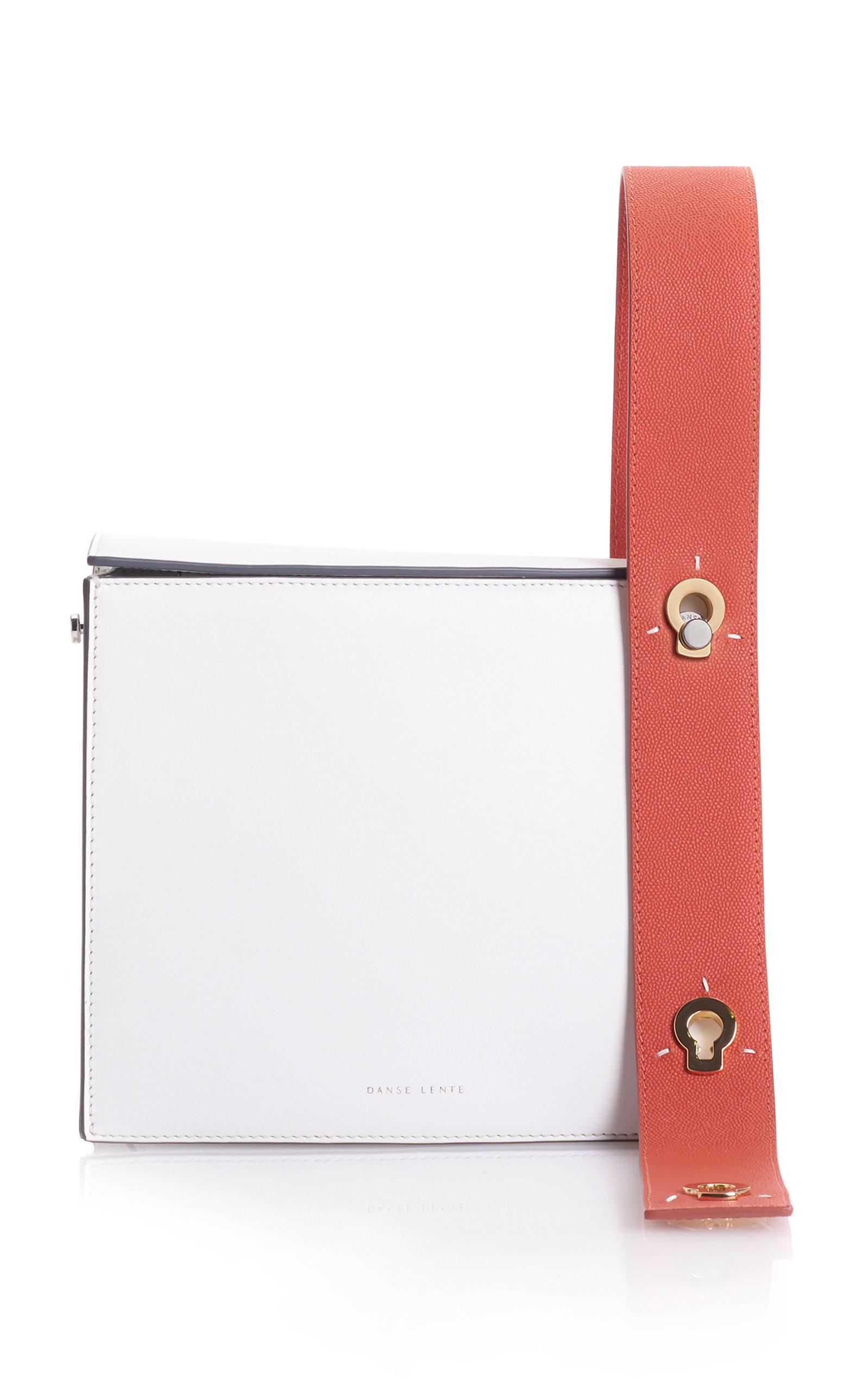 Zoe Leather Box Bag