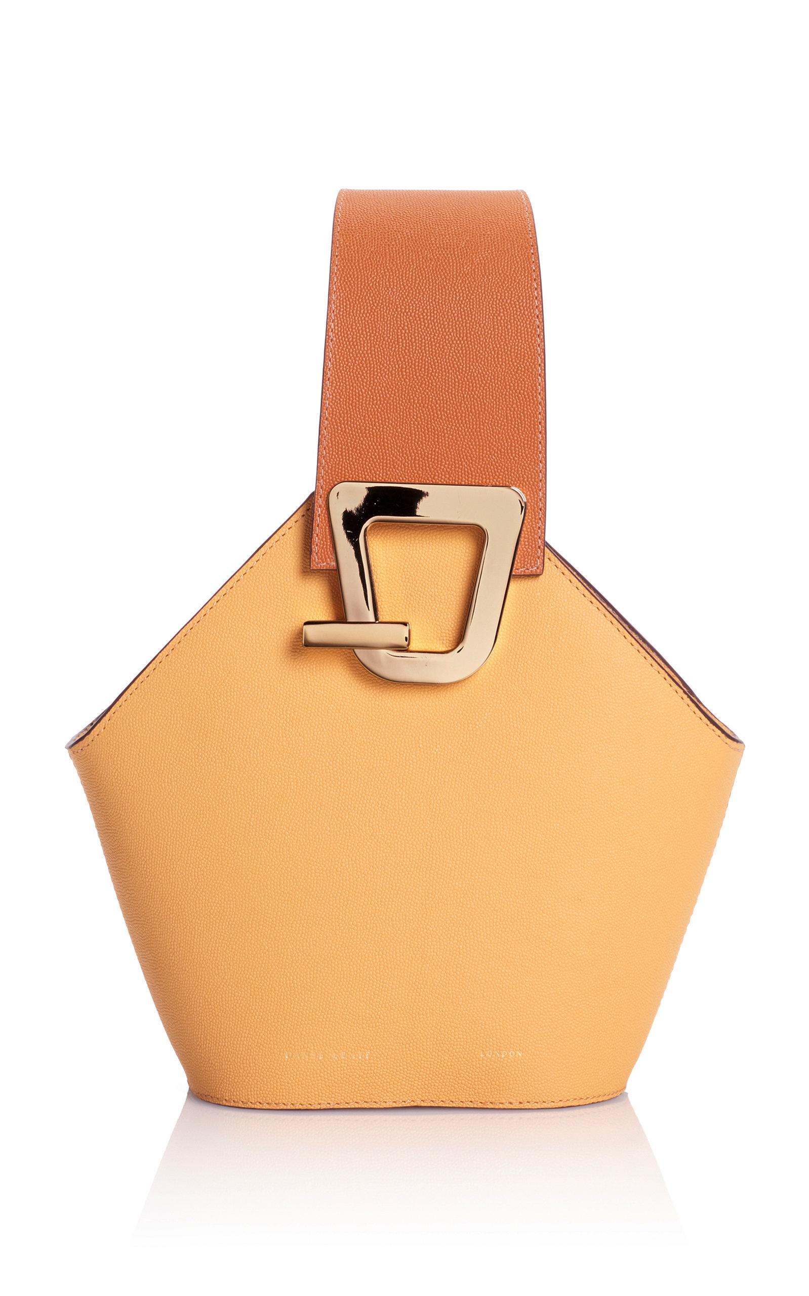 Mini Johnny Leather Bucket Bag