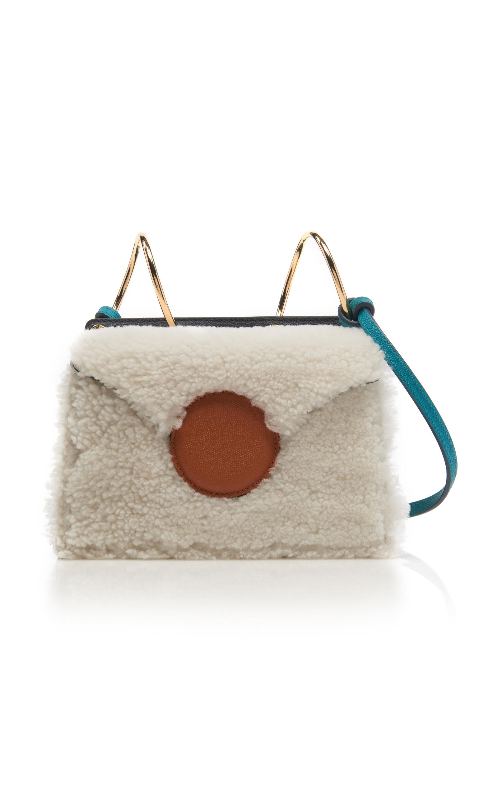 Shearling Mini Phoebe Bag