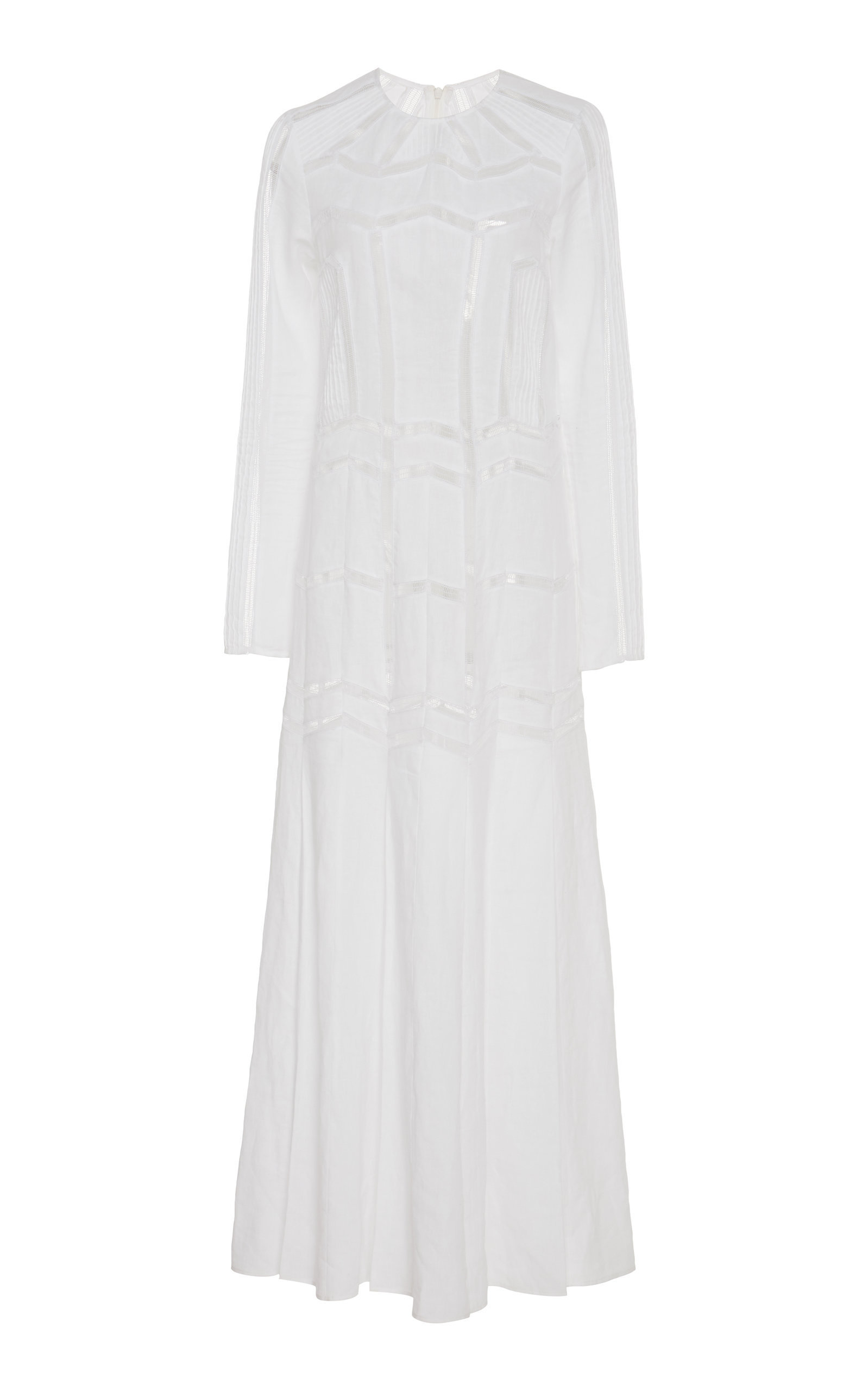 Herringbone Linen Dress