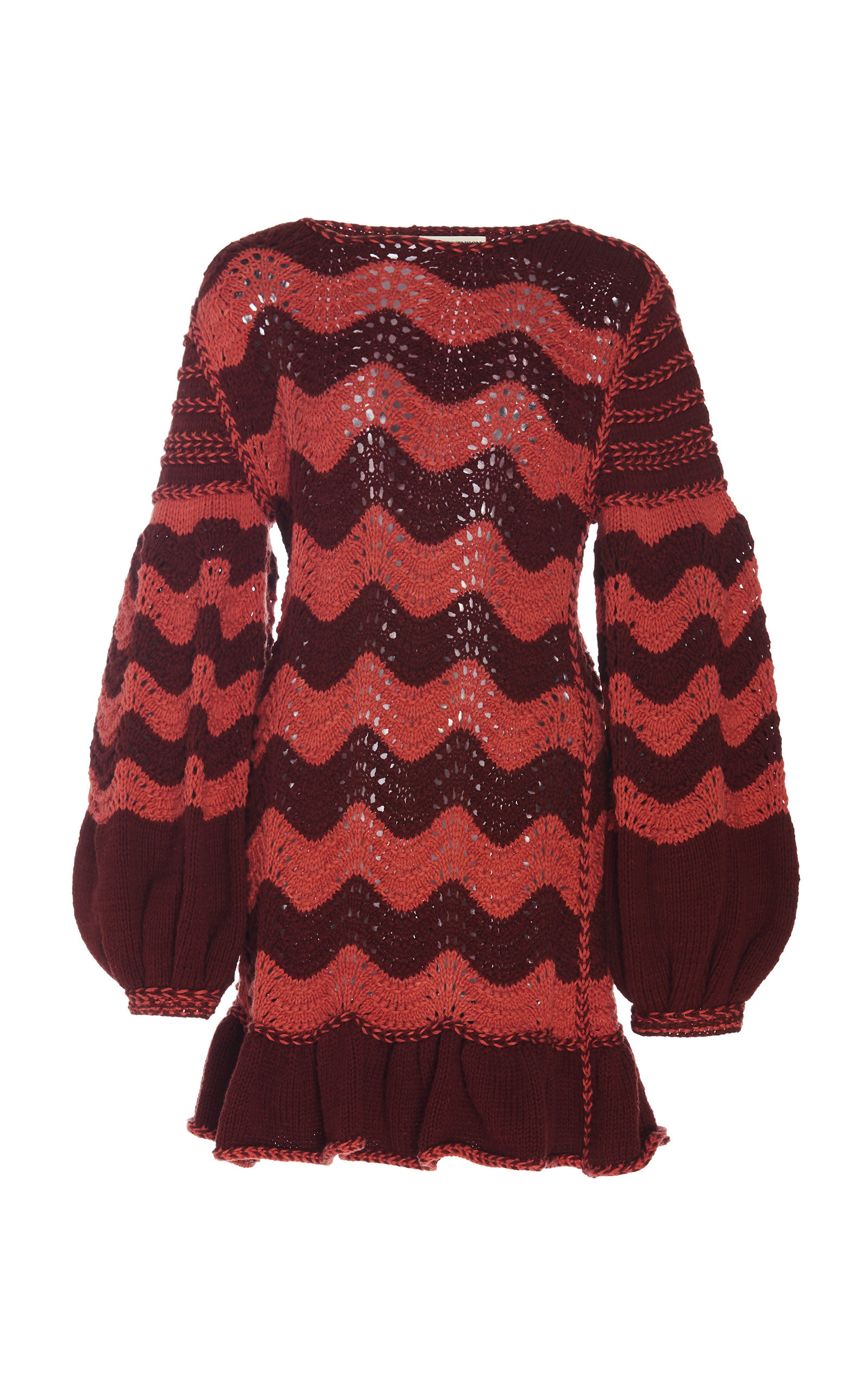 Fiorella Cotton-Blend Sweater Dress