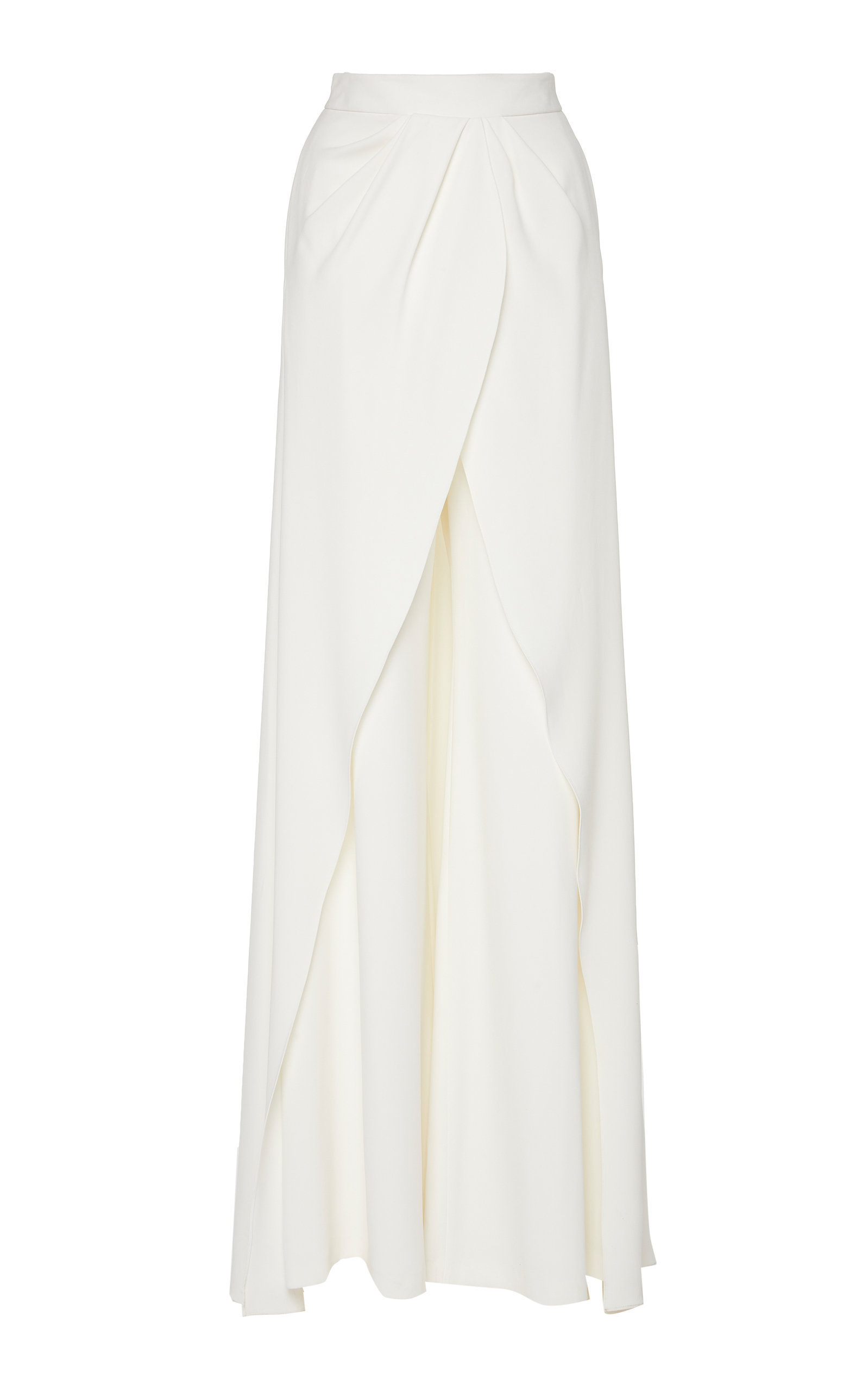 Draped Wide Leg Gown Pant