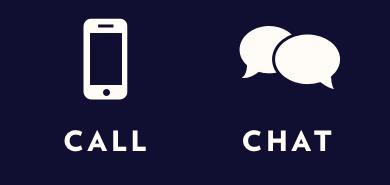 Call Us. Chat Us.