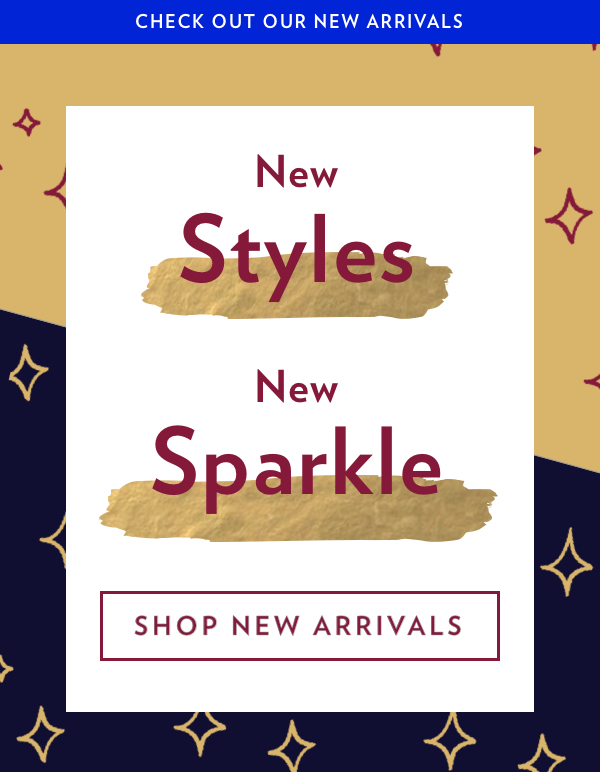 Introducing New Arrivals | Start Exploring Now