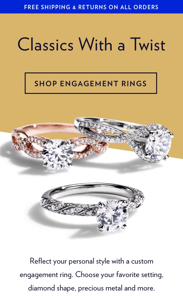 Classic Engagement Rings With A Modern Twist