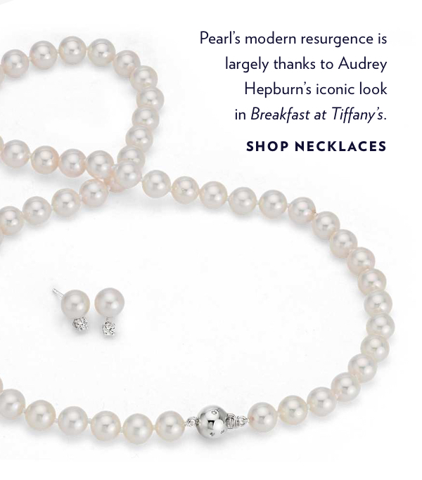 Shop Pearl Necklaces.
