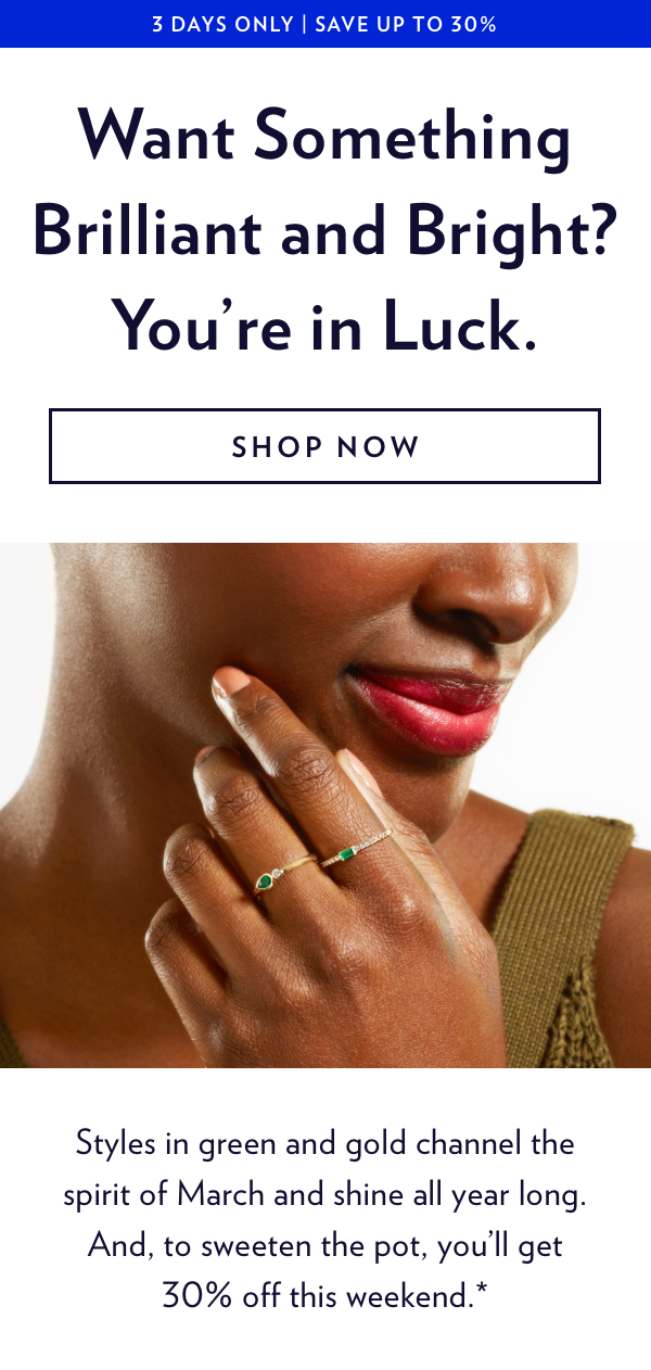 Up To 30% Off Emerald & Gold Jewelry. Shop Now.
