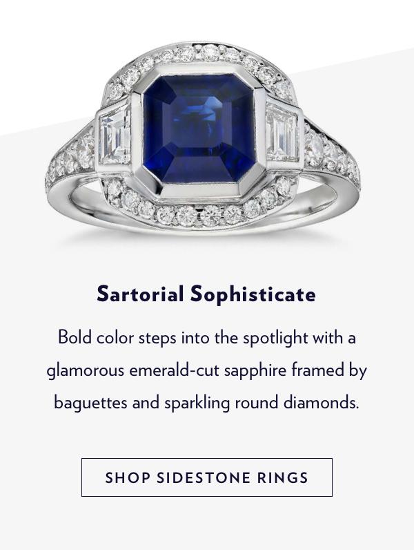 Engagement Rings | Shop Sidestone Rings