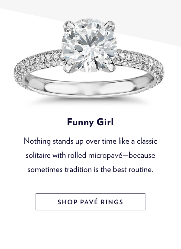 Engagement Rings | Shop Pave Settings