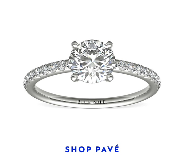 Shop Pave Engagement Rings