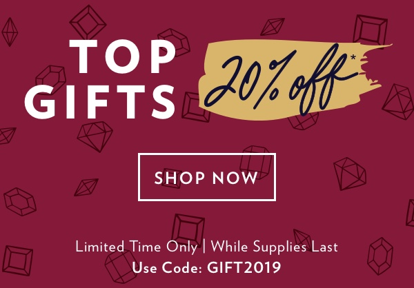 20% Off Top Gifts For The Holidays | Shop Now