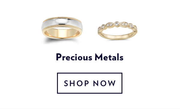 Precious Metal Rings. Shop Sale.