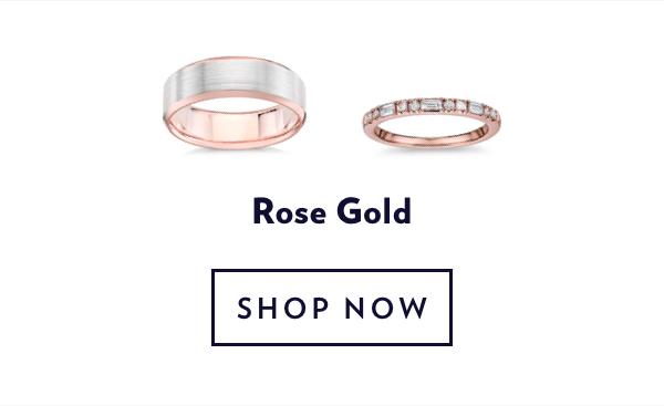 Rose Gold Rings. Shop Sale.