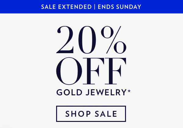 Shop Gold Jewelry