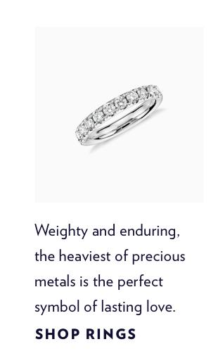 Shop Platinum Rings