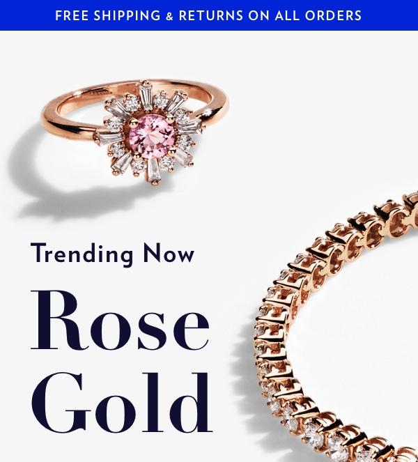 Trending Now: Rose Gold