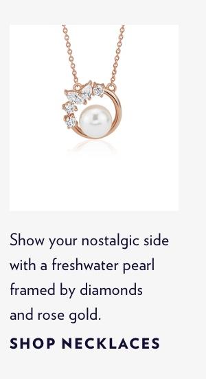 Shop Rose Gold Necklaces
