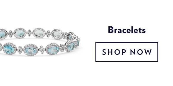 Blue Gemstone Bracelets. Shop Sale.