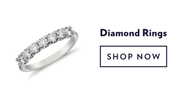 Diamond Rings. Shop Sale.