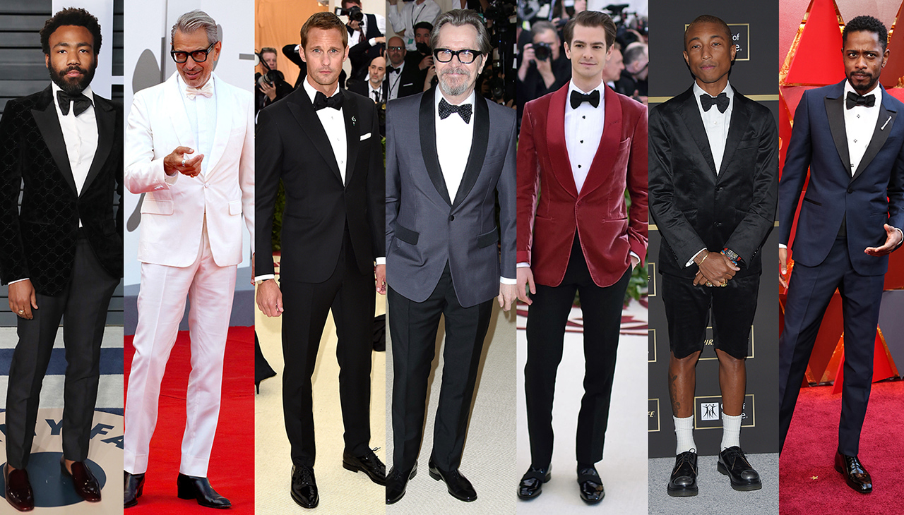 THE BEST TUXEDOS OF 2018