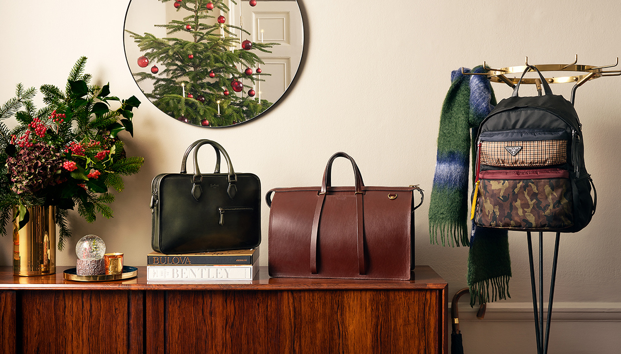 The Men's Gift Guide: Wallets And Bags