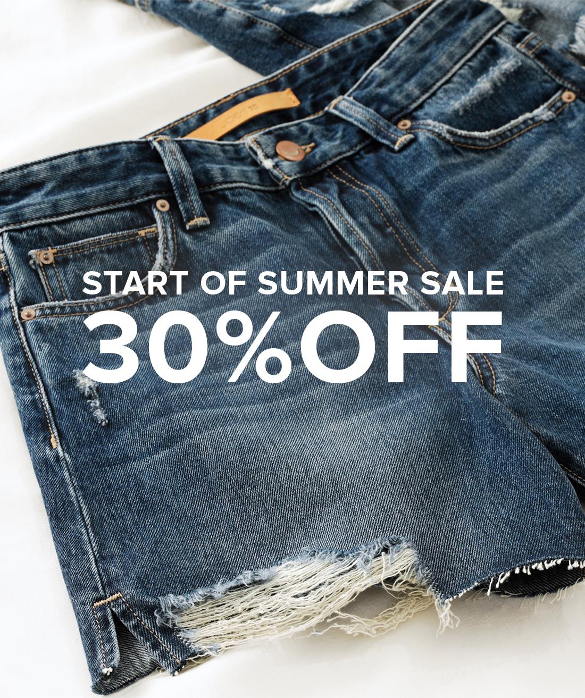 Start Of Summer Sale 30% Off