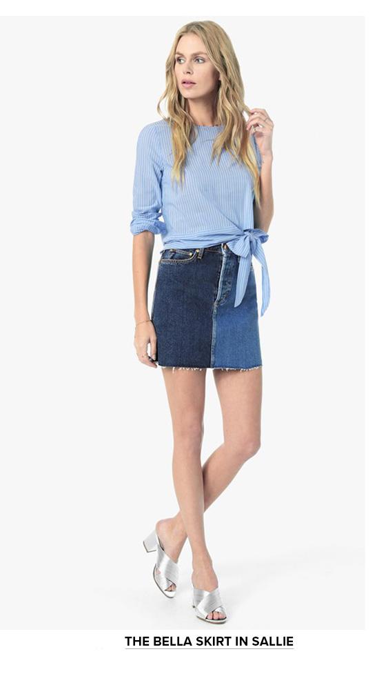The Bella Skirt In Sallie
