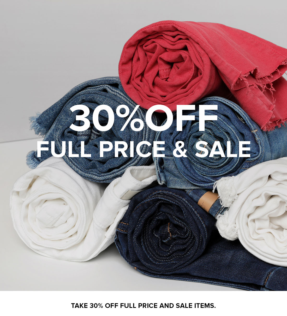 30% Off Full Price And Sale