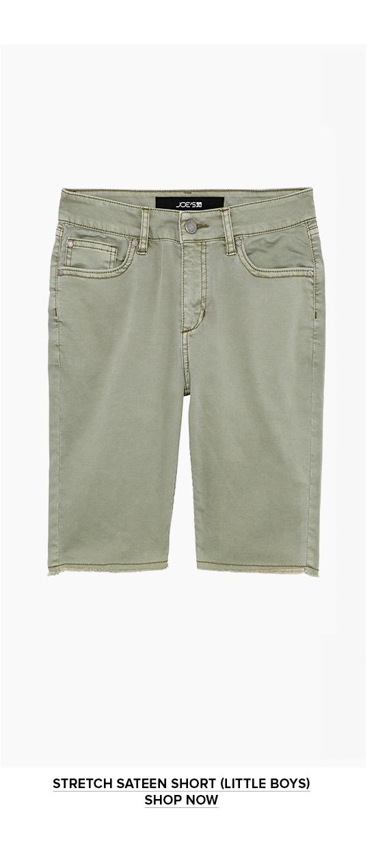 Stretch Sateen Short (Little Boys) Shop Now