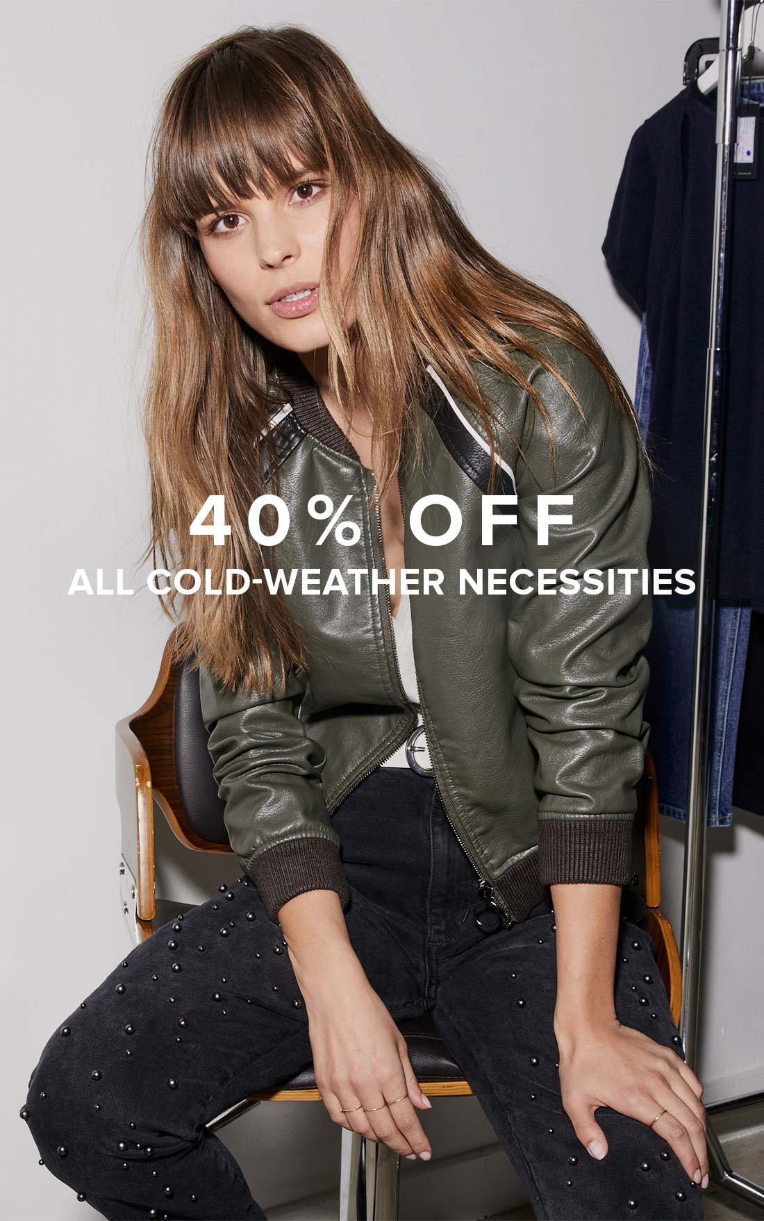 40% Off All Cold-Weather Necessities