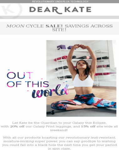 Moon cycle sale |Out of this World offers across site!