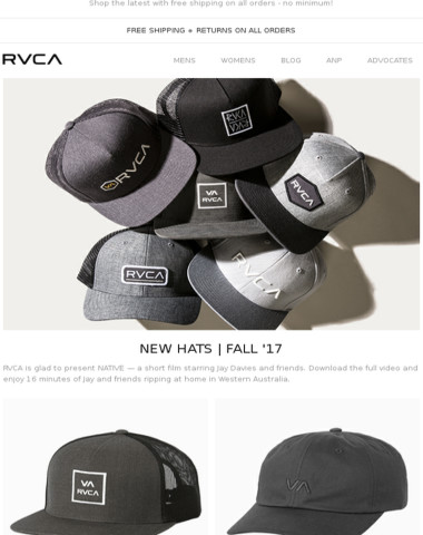 New Hats For Fall '17!