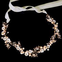 Ladies Beautiful Rhinestone/Alloy/Imitation Pearls Headbands With Rhinestone/Venetian Pearl (042138711)