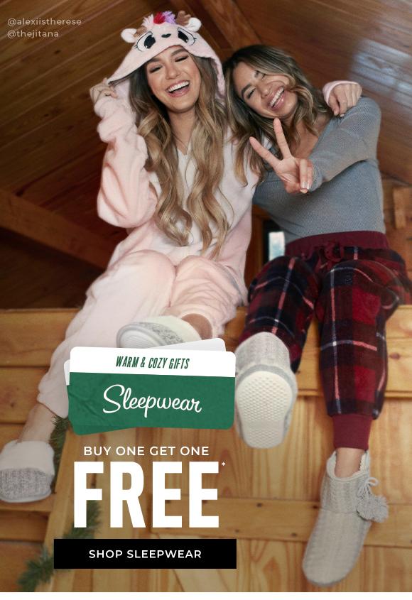 buy one get one free sleepwear