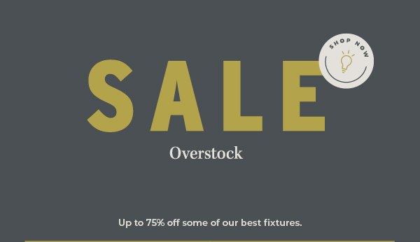 Overstock Sale | Up to 75% Off | Shop Now