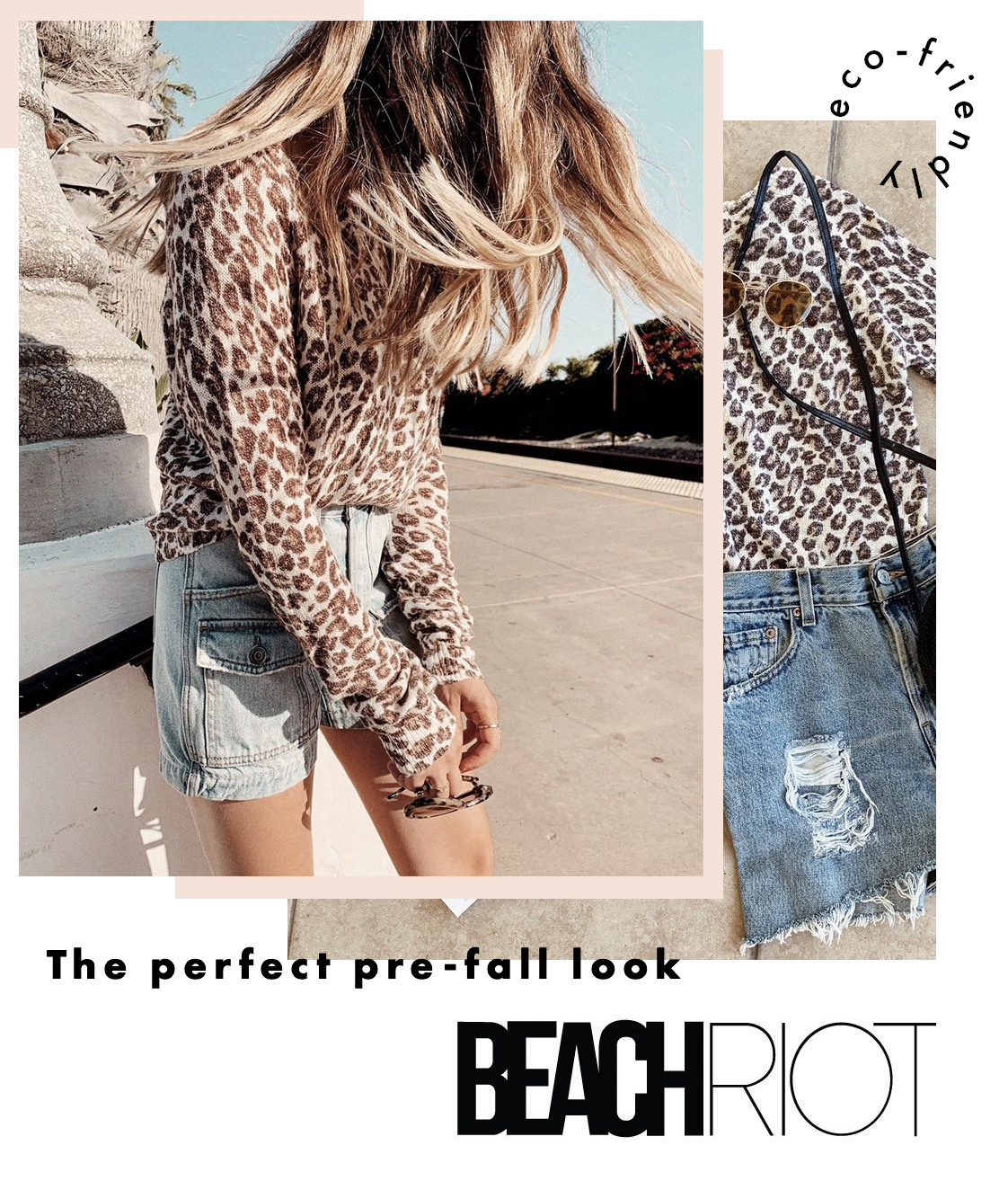 Beach Riot Leopard Sweater