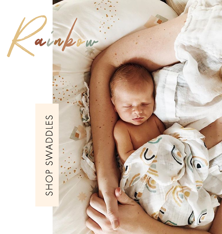 Organic Cotton and Bamboo Baby Swaddles
